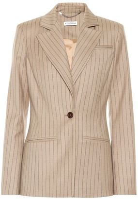 Altuzarra Acacia striped wool-blend blazer