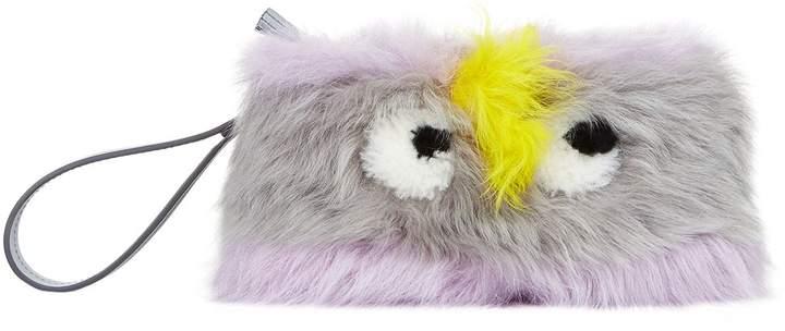 Anya Hindmarch Shearling Creeper Clutch