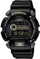 Casio Men's G-Shock Black with Goldtone Detail Digital Watch