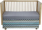 New Arrivals Inc. Piper 2 Piece Crib Set - Blue/Gray
