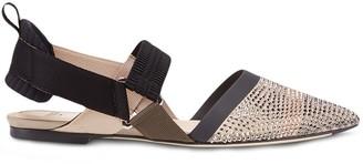 Fendi Colibri flat sandals