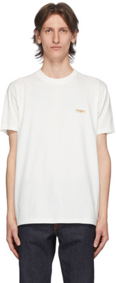 Nudie Jeans White Daniel T-Shirt