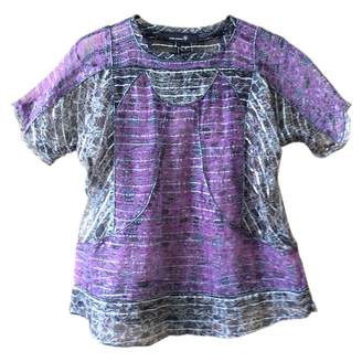 Isabel Marant \N Purple Silk Tops