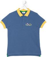 Fendi teen Bag Bugs polo shirt - kids - Cotton - 14 yrs