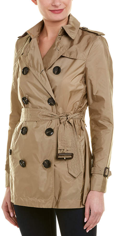 Kerringdale Double-Breasted Raincoat