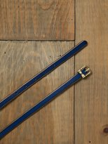Dainty Bow Skinny Belt