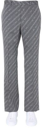 Givenchy Chain Jacquard Trousers