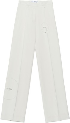 Off-White Cut Here Trousers