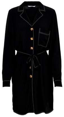 Dorothy Perkins Womens **Only Black Belted Denim Shift Dress, Black