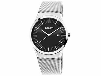 Am.pm. AM-PM Quartz Watch with Stainless Steel Strap PD136-U173