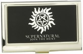Buckle Down Buckle-Down Business Card Holder - Winchester Pentagram/SUPERNATURAL-JOIN THE HUNT Reverse Brushed - Small