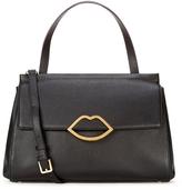 Lulu Guinness Women's Gertie Large Tote Bag Black