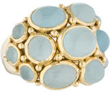 Temple St. Clair 18K Aquamarine Bombé Cocktail Ring