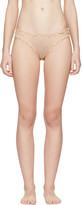 Le Petit Trou Beige Margot Bikini Briefs