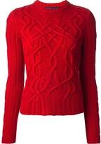 Ralph Lauren Blue Label cable knit sweater