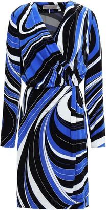 Emilio Pucci Velvet Wrap Dress