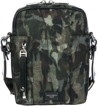 Dolce & Gabbana Camouflage Messenger Bag
