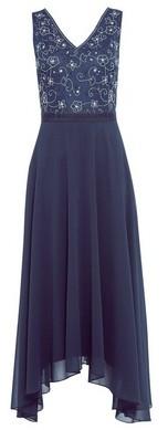 Dorothy Perkins Womens Showcase Bridesmaid Navy 'Valarie' Midi Dress