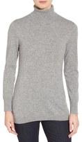 Nordstrom Women's Long Cashmere Turtleneck Sweater