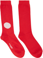 Blue Blue Japan Red Japan Flag Socks