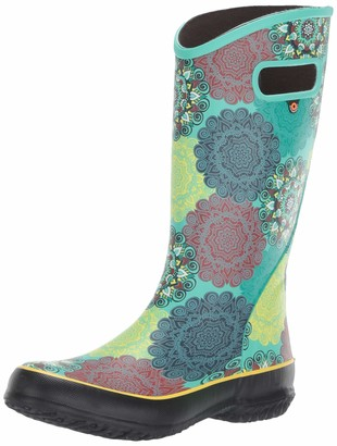 Bogs Women's Rainboot Mandala Print Waterproof Rain Boot