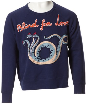 Gucci Navy Cotton Knitwear & Sweatshirts