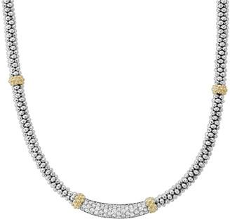 Lagos Diamond Lux Diamond-Station Necklace