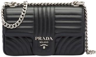 Prada Diagramme medium leather bag