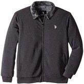 U.S. Polo Assn. Men's Sherpa Lined Fleece Jacket