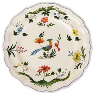 Gien Oiseaux De Paradis Luncheon Plate (25Cm)
