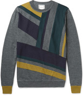 Wooyoungmi - Panelled Wool Sweater