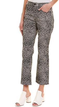 Rag & Bone Hana Grey Leopard High-Rise Curvy Ankle Cut