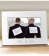 Cathy's Concepts For The Couple Beaded Silver Picture Frame