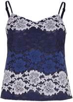 Yumi Gradient Lace Vest Top