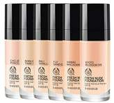 The Body Shop Fresh Foundation 032 Yorkshire Rose - 30ml (Pack of 6)