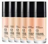The Body Shop Fresh Foundation 070 Seychelles Cinnamom - 30ml (Pack of 6)