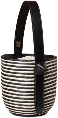 Cesta Collective Zebra Lunchpail Top Handle Bag