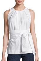 Escada Sleeveless Cotton Top