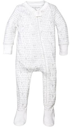 Burt's Bees Baby Baby Boys or Baby Girls One-Piece Sleeper Pajamas