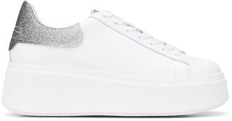 Ash Moby Glitter platform trainers