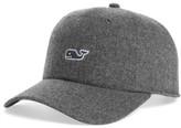 Vineyard Vines Men's Wool Blend Baseball Cap - Grey