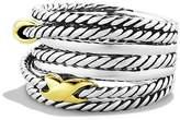 David Yurman Double X Crossover Ring