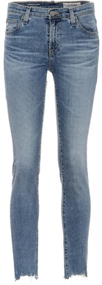 AG Jeans The Prima Ankle mid-rise skinny jeans