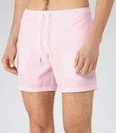 Reiss Reiss Seaside - Striped Swim Shorts In Pink, Mens