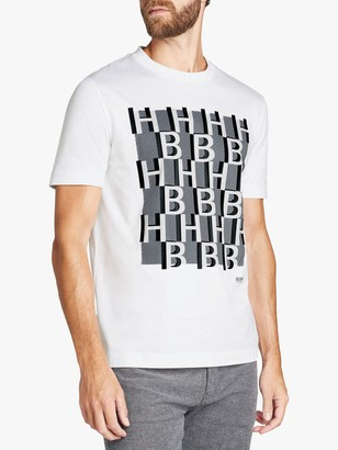 HUGO BOSS BOSS Monogram Print T-Shirt