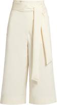 Tibi Tie-waist cady culottes