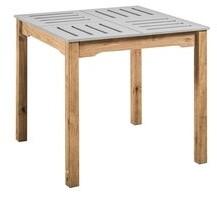 Manhattan Comfort Mid- Century Modern Stillwell 31.5 Inch Square Wood Dining Table