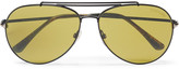Tom Ford - Erin Aviator-style Metal Sunglasses