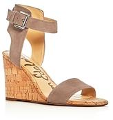 Sam Edelman Willow Ankle Strap Wedge Sandals