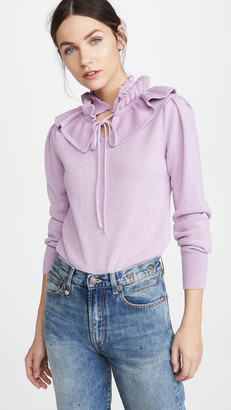 Marc Jacobs Frill Neck Sweater
